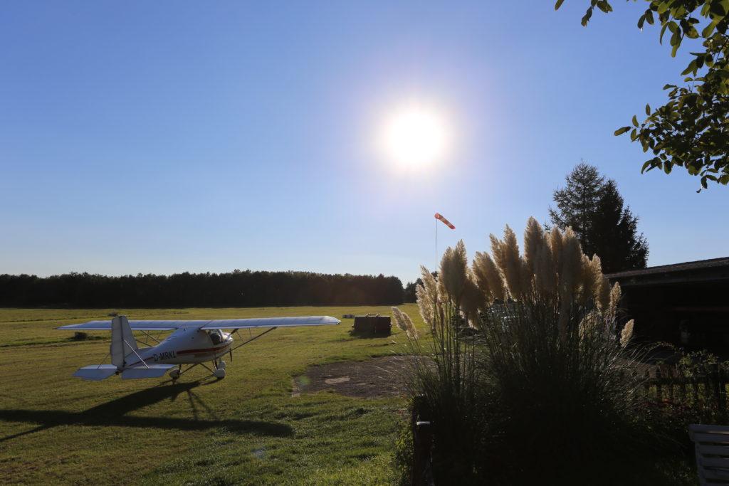 Flugplatzimpression aus Hengsen-Opherdicke